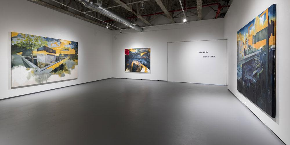 Lindsay Kirker MFA exhibition
